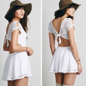 Free People Beach Walk to the Beat Romper